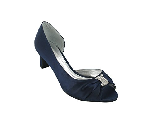 tacón azul LEXUS marino Azul mujer con Zapatos xqaXwafE