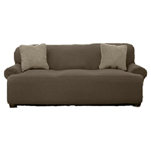 Beautiful Sofa (Le Benton Sofa Cover, Stretchable, Beautiful Look, Great Protector, Highest Quality Slipcover, Taupe)