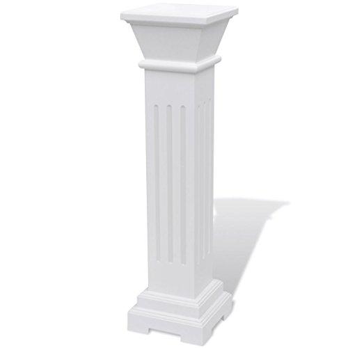 vidaXL Column Pedestal Pillar Plant Floral Flower Stand Yard Wedding Party ()
