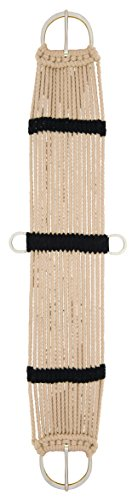 Western Saddle Girth - Weaver Leather Rayon 17 Strand Cinch