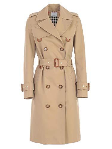 - BURBERRY Women's 8014155 Beige Cotton Trench Coat