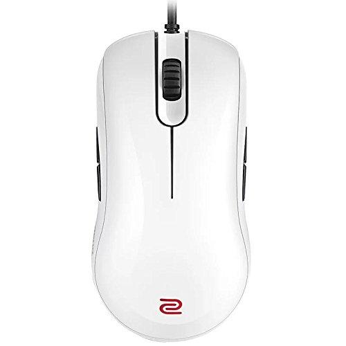 ZA12 WHITE موس الکترونیکی ورزشی بازی ارگونومیک نوری (SPECIAL EDITION) برای رایانه های رایانه ای الکترونیکی ورزشی