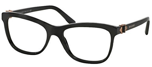 Bvlgari Women's BV4101B Eyeglasses Black (Bulgari Eyeglasses)