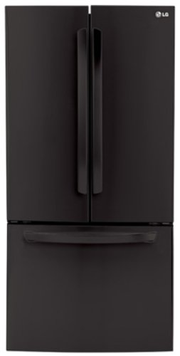 LG LFC24770SB 24.0 Cu. Ft. Smooth Black French Door Refrigerator - Energy Star by LG