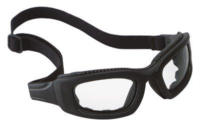 3M (Formerly Aearo) 40698-00000 Maxim 2X2 Impact Goggles with Black Nylon Dual Lens Frame, Clear Anti-Fog Lens, Elastic Band and Air Bladder Cushion, English, 15.34 fl. oz, Plastic, 3.5