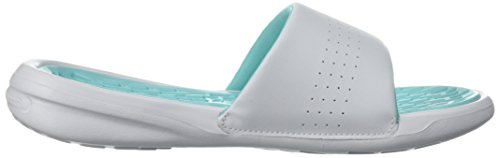 SL Mint White Piscina W de Armour y Playa Zapatos Tide para Playmaker Under Fix Refresh UA Mujer Tropical HFARqawX