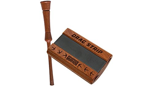 Friction Slate Turkey Call - Primos Drag Strip Wood Grain 2914 Friction - Slate Calls Turkey Call