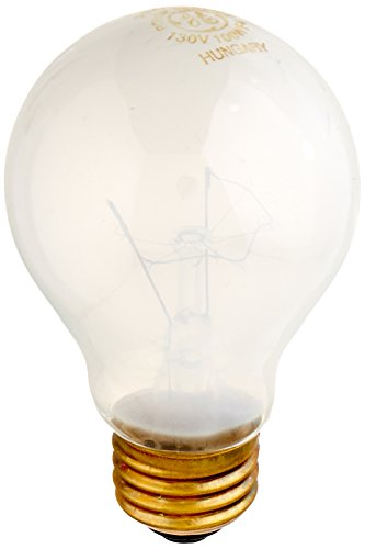 GE Lighting 72527 100-Watt 1070/815-Lumen 130-Volt Rough Service A19 Light Bulb 100w Rough Service Bulb