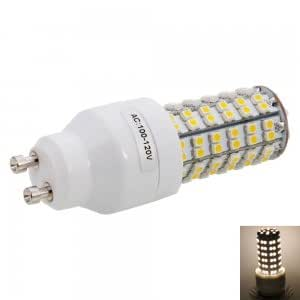GU10 4W 108LED SMD3528 3000K Warm White LED Corn Light (100-120V)