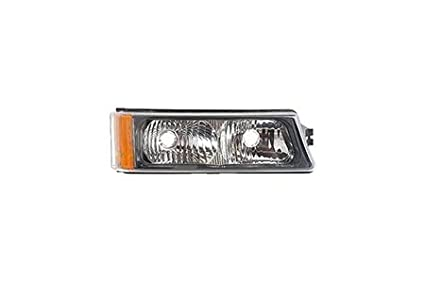 Replacement for GM2521185 NSF Certified CarLights360: Fits 2002 2003 2004 2005 2006 Chevrolet Avalanche 1500 Turn Signal//Parking Light Assembly Passenger Side Right