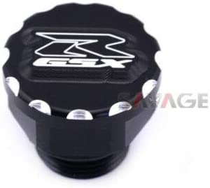 FidgetGear Oil Filler Cap Screw for Suzuki GSXR 600//750//1000 Motorcycle Accessories CNC Black