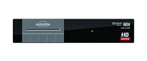 Arion ARS-6130IR HDTV Satelliten Receiver für die ORF KARTE und 1 Monate HD Austria SAT inkludiert