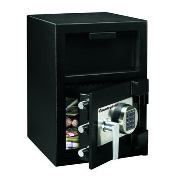 Sentry Safe Front Loading Depository - Depository Safe Small Loading Front