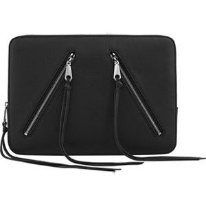 Incipio Rebecca Minkoff Moto 13 Sleeve - Black Pebble Leather from Incipio