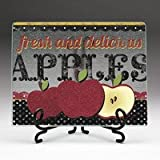Highland Graphics- Fresh and Delicious- ClearCut with Metal Easel
