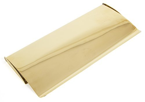 From the Anvil 33061 Small Cast Letter Plate Cover - Polished Brass by From the Anvil