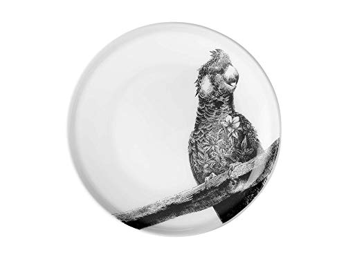 Mw Marini Ferlazzo Plate 20cm Carnaby Cockatoo Gift Boxed