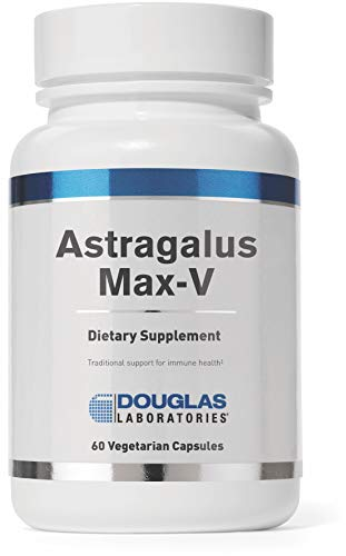 Astragalus 60 Capsules - Douglas Laboratories - Astragalus Max-V - Standardized Astragalus to Provide Immune Support* - 60 Capsules