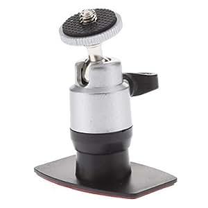 Tornillo de cabeza giratoria 3M Car Mount Stickup Stander para la cámara (HD-052A, cojinete de carga: 500 g)