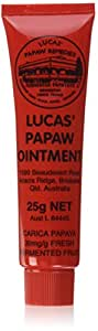 25g Lucas Papaw Ointment Pawpaw Cream Paw Paw Handy Tube Nappy Rash Cream