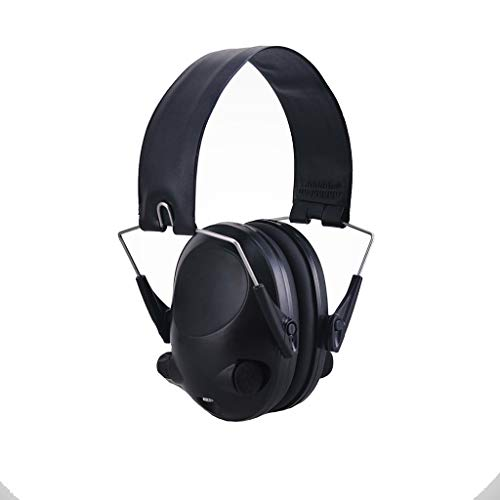 Noise Cancelling Earphones, Head-Mounted Adult Sponge Noise-reducing Earmuffs Portable Ear Protectors (Color : Black) by Noise canceling headphones (Image #6)