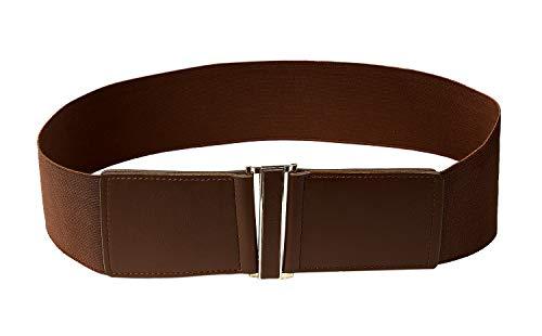 (Modeway Women's Belt Faux Leather 3