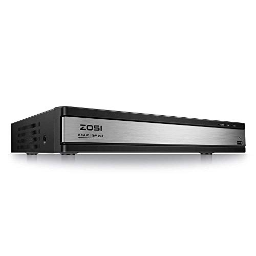 ZOSI 16CH Full 1080P High Definition Hybrid 4-in-1 HD TVI DV