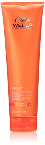 Wella Enrich Moisturizing Conditioner for Fine to Normal Hair for Unisex, 8.4 Oz