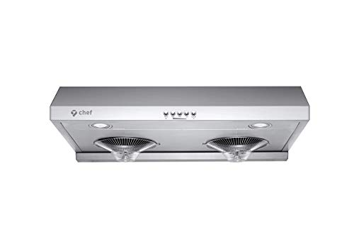 "Chef Range Hood C100 30"" Under Cabinet Kitchen Extractor 