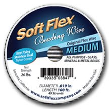 soft flex beading wire 100 ft - 3