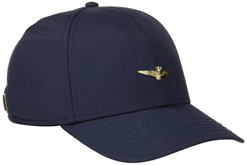 Aeronautica Militare Cappellino, Gorra de Béisbol para Hombre Blu (Blu Navy 08184)