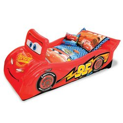 CARS Lightning McQueen Inflatable Bed  sc 1 st  Amazon.com : lighting mcqueen bed - azcodes.com