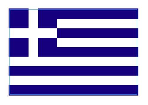 Greece Greek Flag Car Magnet Decal - 4 x 6 Heavy Duty for Car Truck SUV (Flag Magnet Greek)