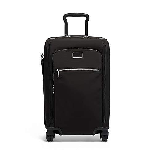 TUMI - Larkin Sutter International Dual Access 4 Wheeled Carry-on - Black/Silver