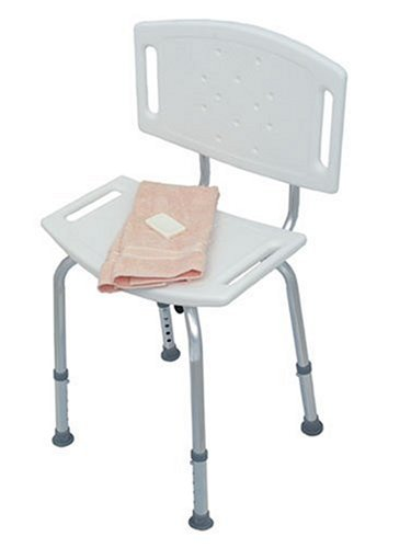 (Duro-Med Blow-Molded Bath Seat with Back)