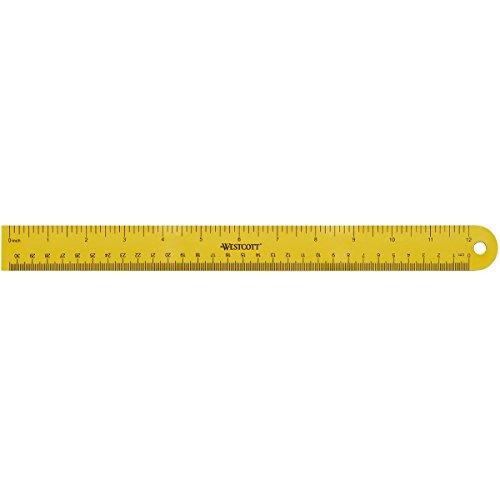 "Westcott 12"" Magnetic Ruler (15990)"