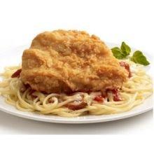 Tyson Red Label Premium Golden Crispy Breaded Chicken Breast Filet, 5 Pound - 2 per case.