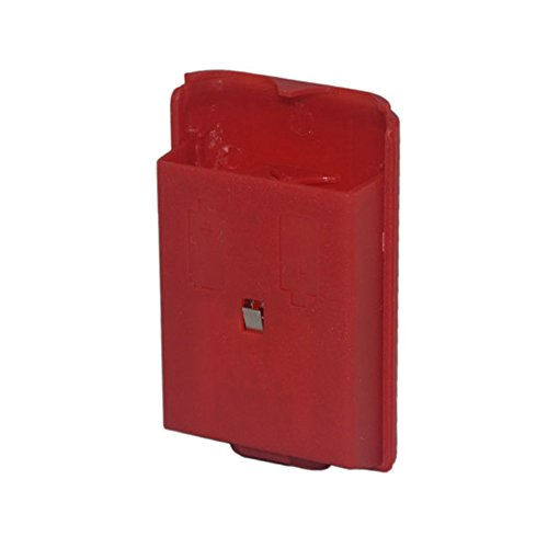 Cinpel Replacement Wireless Controller Battery Cover for Xbox 360 Red For Sale