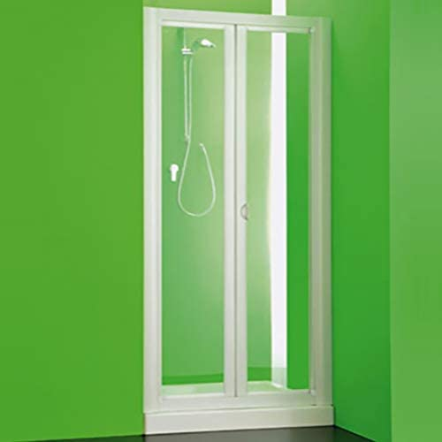 Box puerta frontal ducha Maestro PVC, tamaño CM100 – 90, hueco ...