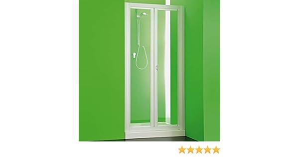 Box puerta frontal ducha Maestro PVC, tamaño CM100 – 90, hueco apertura deslizante color blanco: Amazon.es: Bricolaje y herramientas
