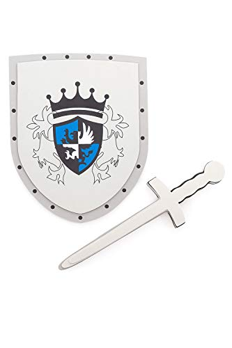 Little Adventures Foam Pretend Play Toy Sheild & Sword Set (RedKnight)]()