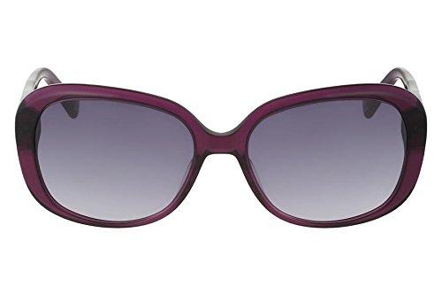 Óculos De Sol Nine West Nw559S 515/56 Roxo Transparente