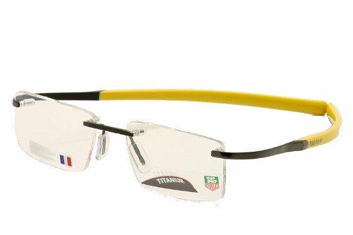 dd57039b1b TAG HEUER 0301 color 001 Eyeglasses  Amazon.co.uk  Clothing