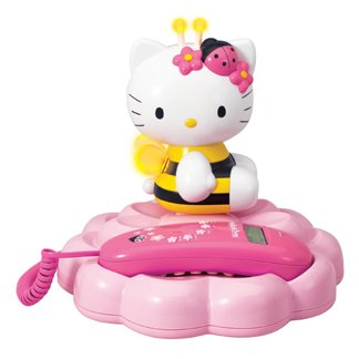 Kitty Hello Telephone (Hello Kitty: Bumble Bee Telephone)