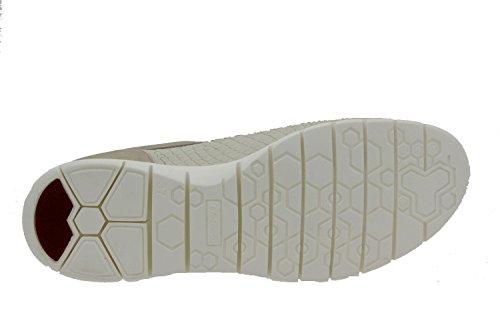 Calzado mujer confort de piel Piesanto 6994 deportivo plantilla extraíble zapato cómodo ancho Hielo
