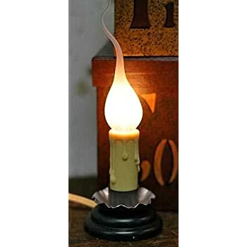Amazon Com Electric Country Welcome Candle Lamp With
