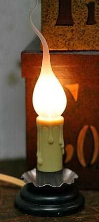 Darice Electric Country Welcome Candle Lamp with Silicone Bulb (Pkg of 3)