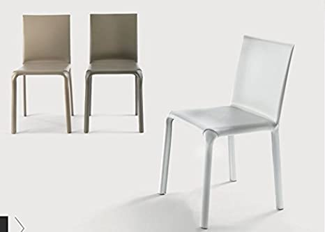 Bontempi set di sedie alice cuoio cm l p h