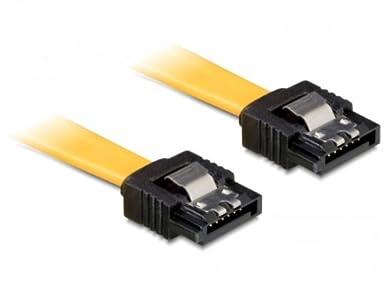 10x DELOCK Kabel SATA 6Gb//s 50cm gelb ge//ge Metall