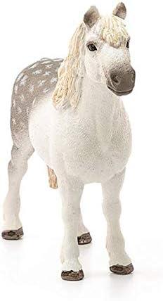 Blanco Color Gris Schleich-13871 Semental Poni gal/és 13871